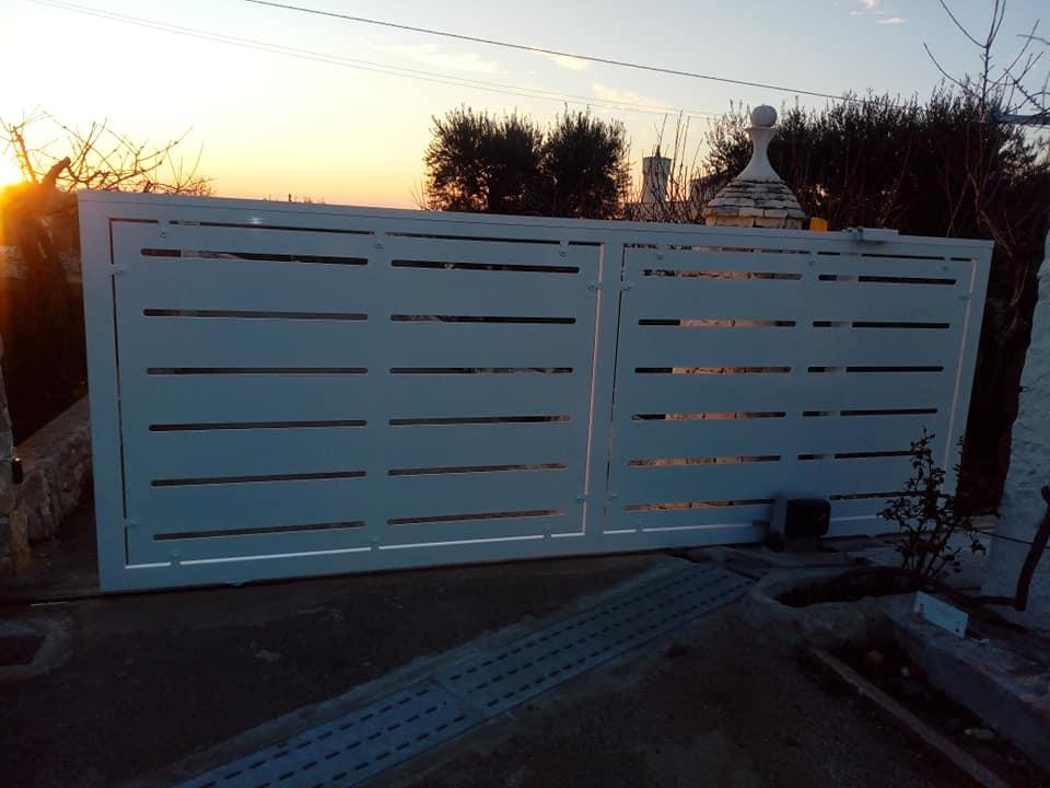 Carpenteria - cancello scorrevole